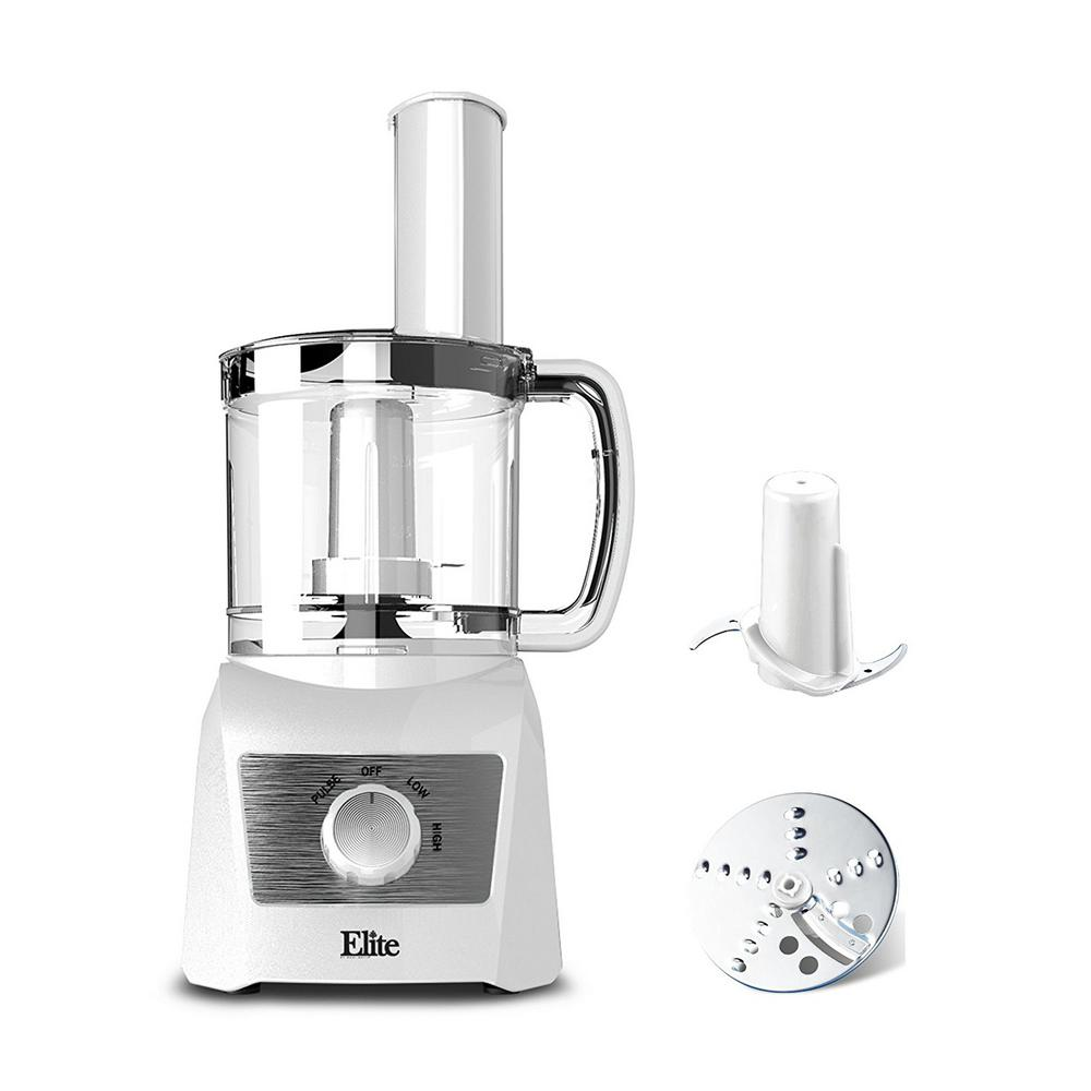 3 Cup Food Processor with 2 Speeds and Pulse Power Setting