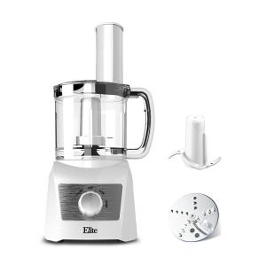 3 Cup Food Processor with 2 Speeds and Pulse Power Setting in White color