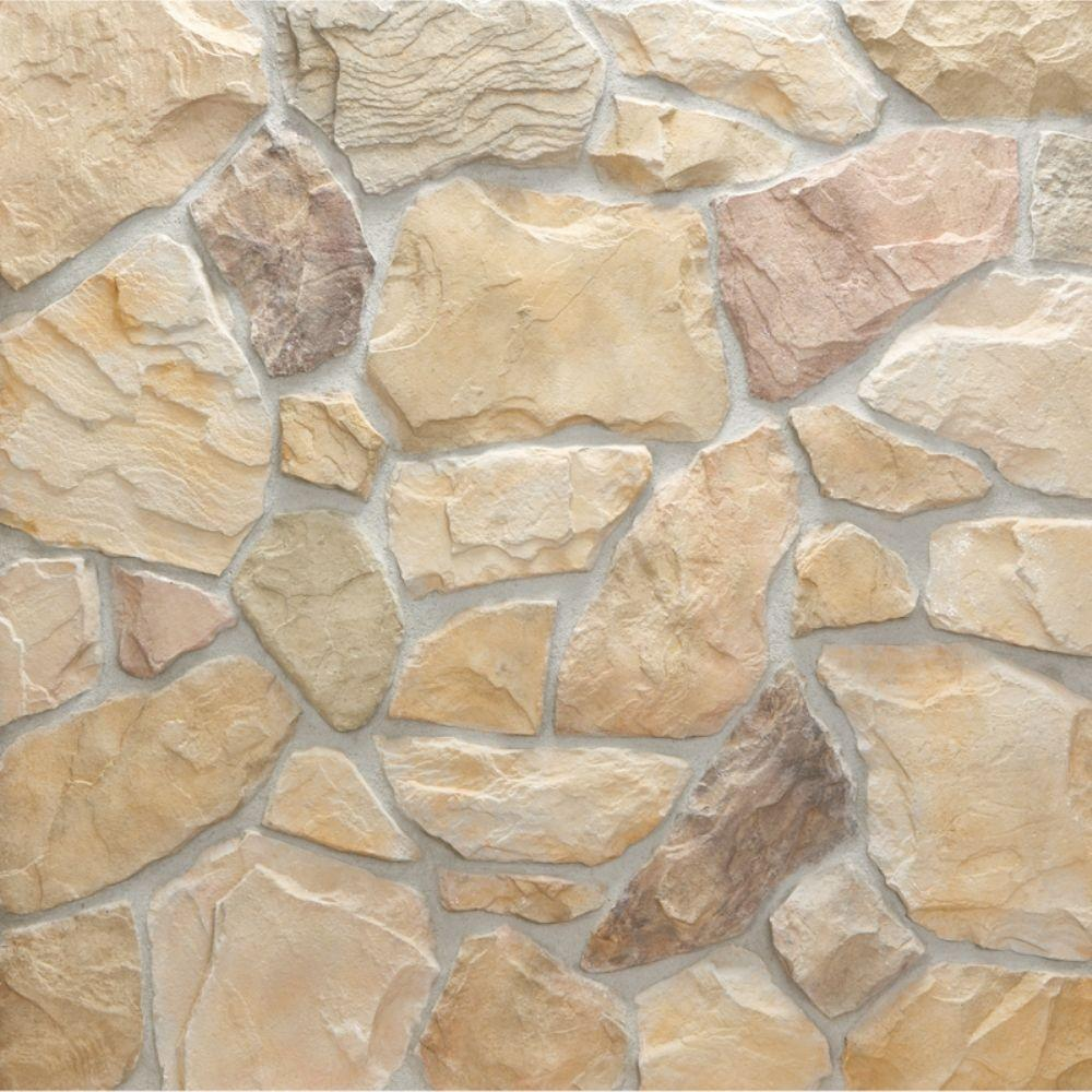 Field Stone Mendocino Flats 150 sq. ft. Bulk Pallet Manufactured Stone