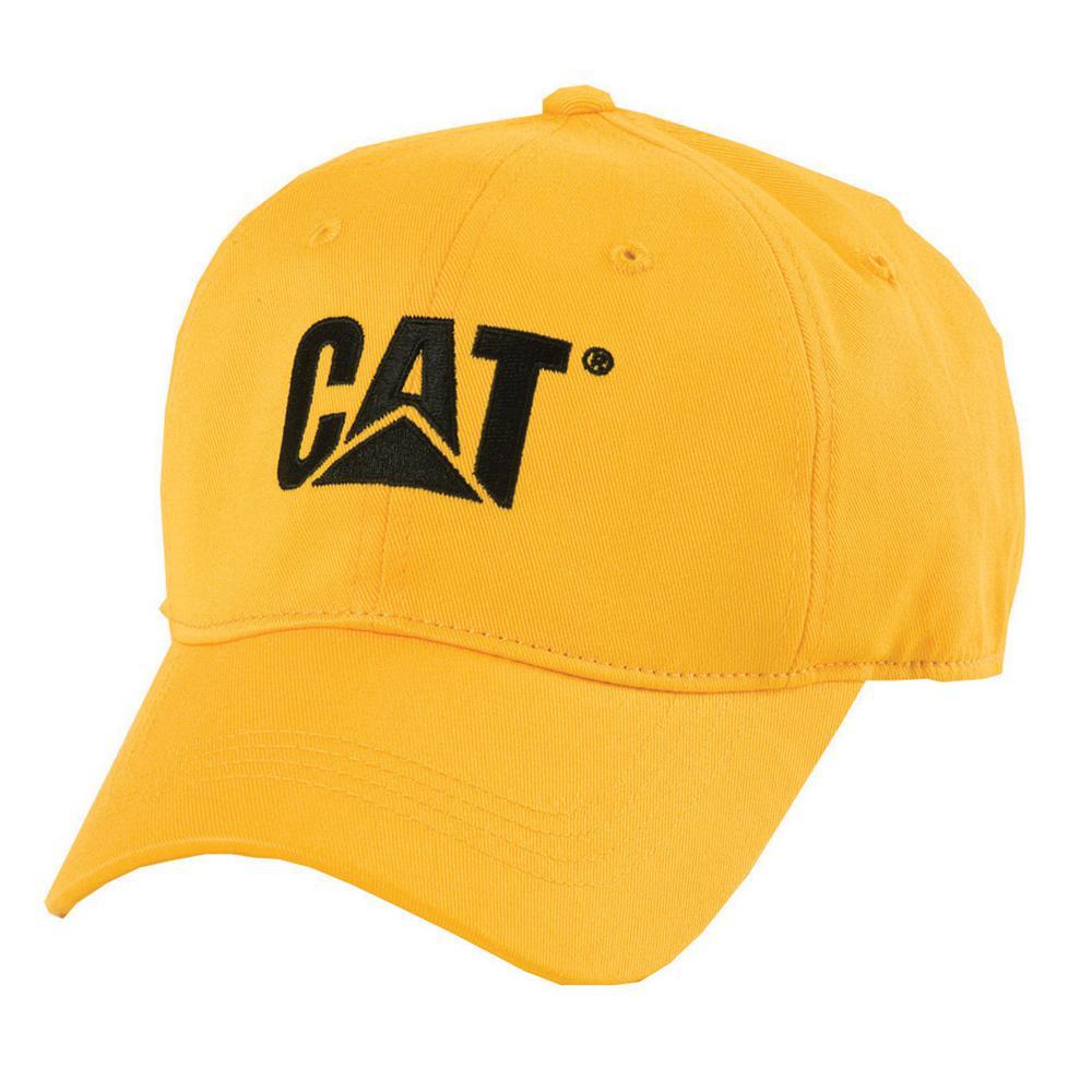 Trademark Men's One Size Yellow Cotton Canvas Cap Headwear