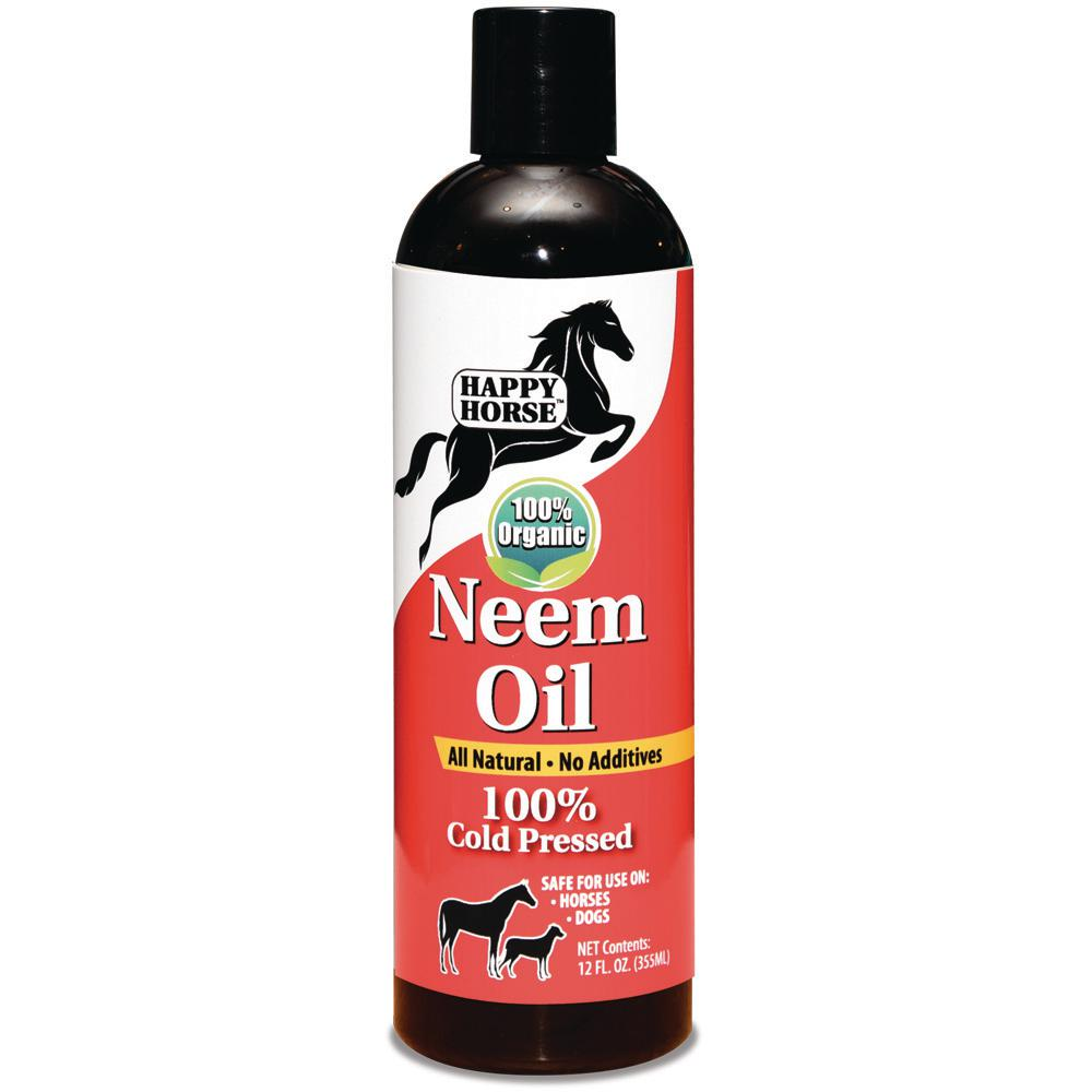 Harris Happy Horse 12 oz. Neem Oil 100% Cold Pressed and Unrefined