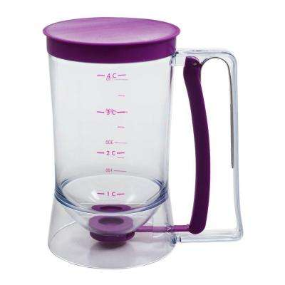 4-Cup Batter Dispenser in Purple