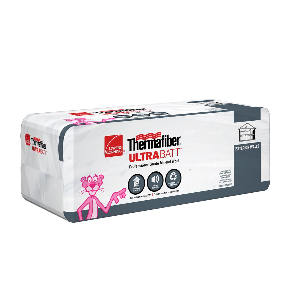 Owens Corning R-30 Thermafiber Ultra Mineral Wool Insulation Batt 15 in. x 47 in.
