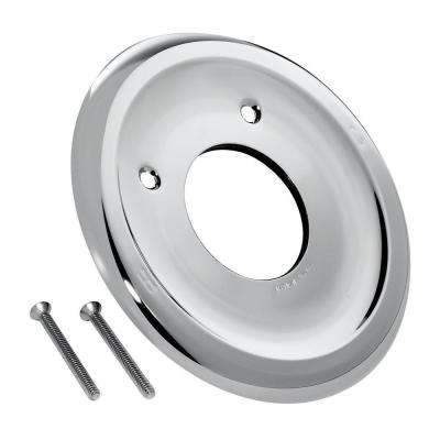 Escutcheon with Screws, Polished Chrome