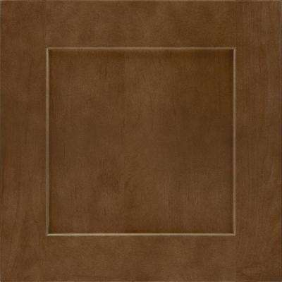 14-9/16x14-1/2 in. Cabinet Door Sample in Reading Maple Truffle