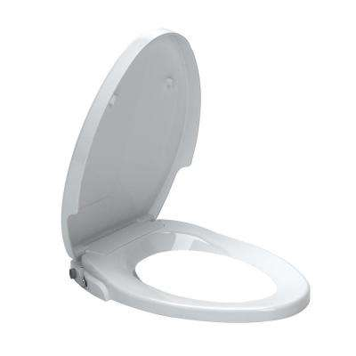 AquaWash Non-Electric Bidet Seat for Elongated Toilets in White