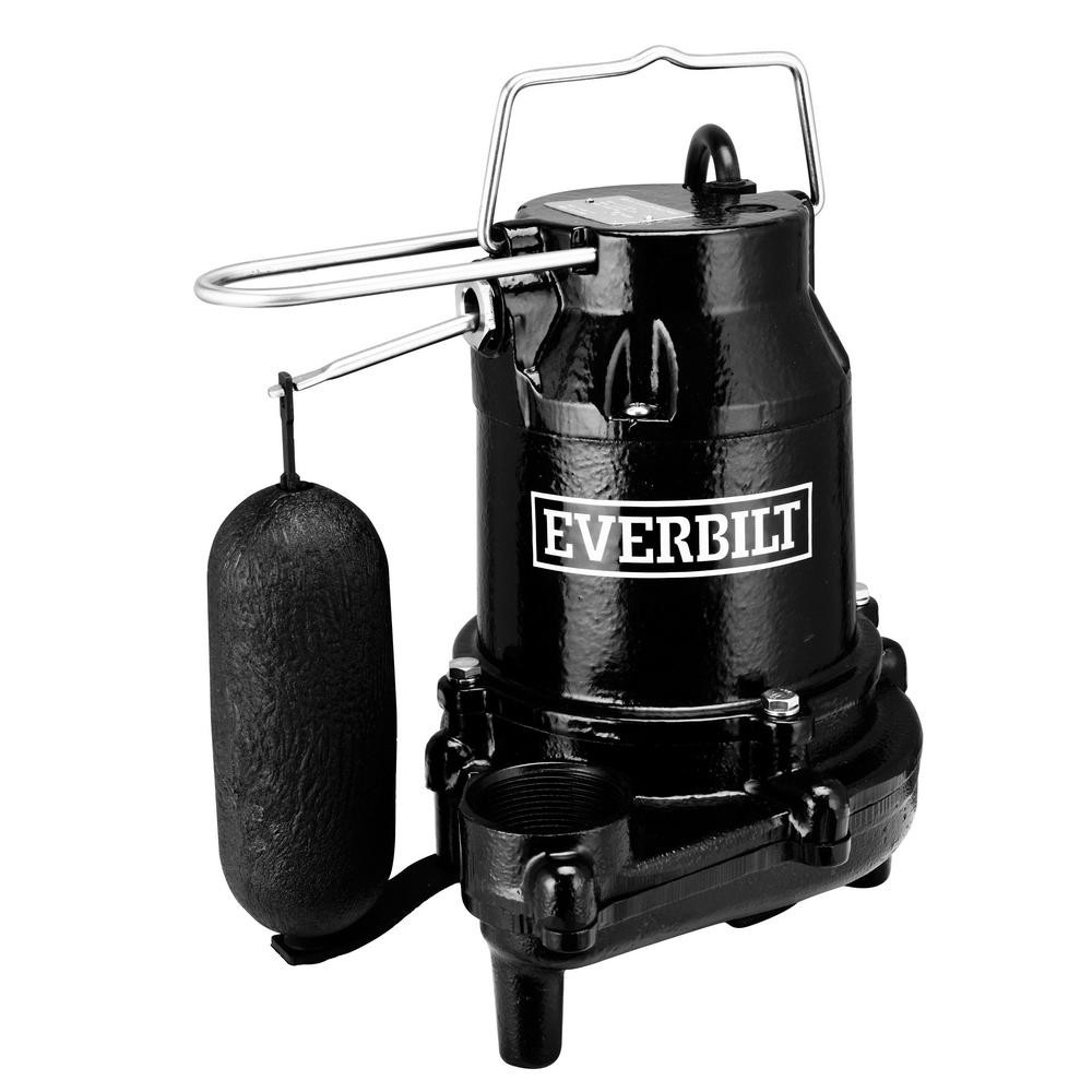 Everbilt 1/2 HP Cast Iron Sump Pump