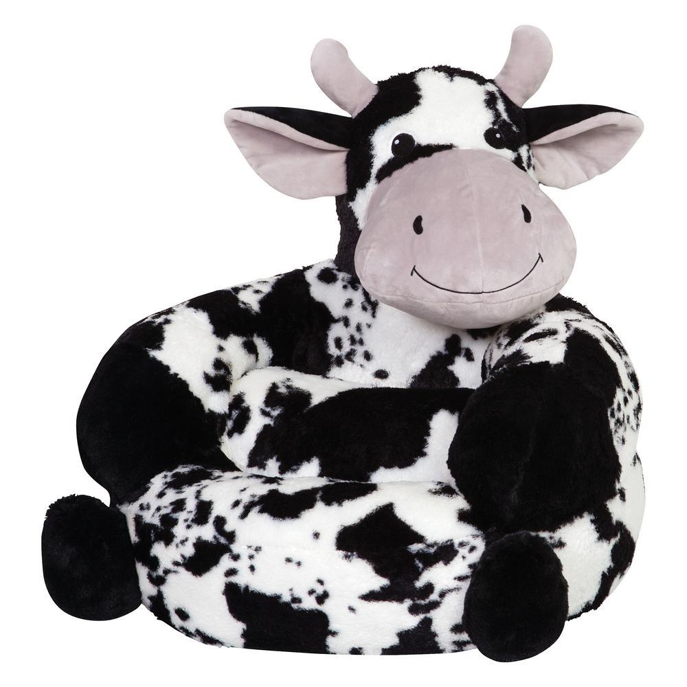 Trend Lab Multicolored Children S Plush Cow Character