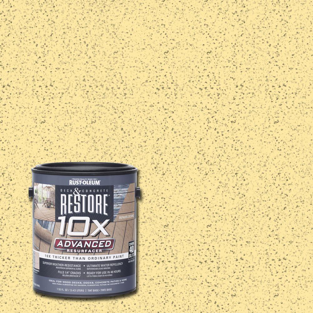 Rust-Oleum Restore 1 gal. 10X Advanced Hacienda Deck and Concrete Resurfacer