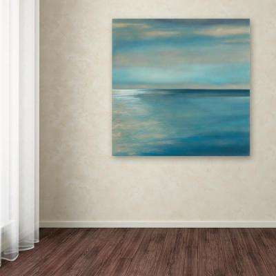 """35 in. x 35 in. """"Horizon"""" by Rio Printed Canvas Wall Art"""