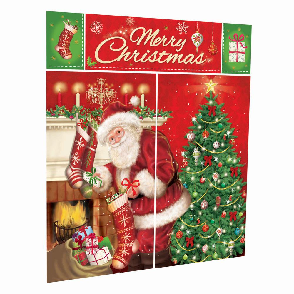 Amscan 59 In Magical Christmas Scene Setter Kit 5 Count 3 Pack
