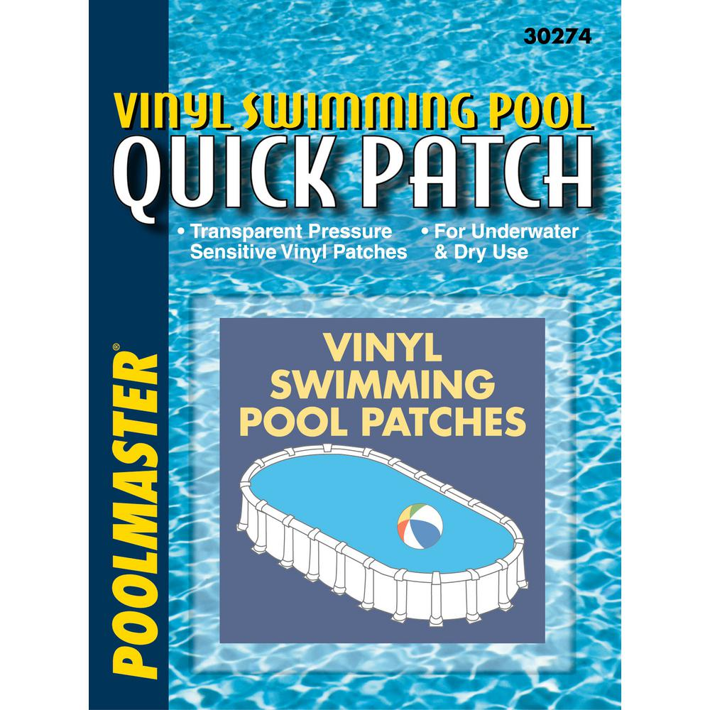 Poolmaster Basic 3 in. x 3 in. Quick Patch Kit (5-Pack)