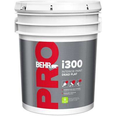 5 Gal I300 White Base Dead Flat Interior Paint