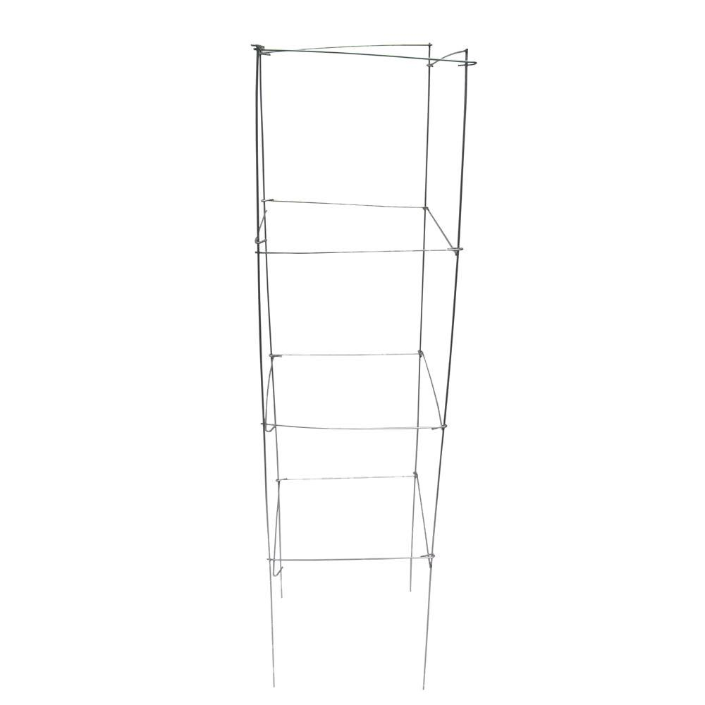 Glamos Wire Products 12 in. x 42 in. Square Tomato Support (25-Pack ...