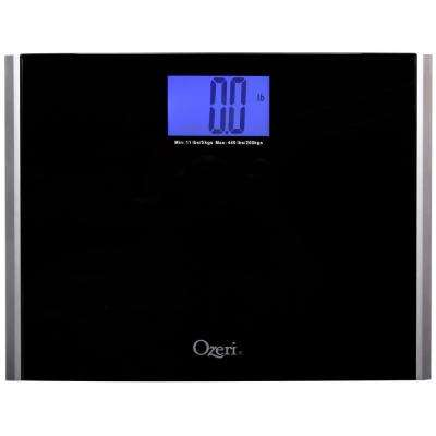 Precision Pro II Digital Bathroom Scale Tempered Glass Platform with StepOn Activation