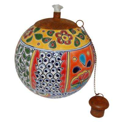 Talavera Cancun Design Table Top Torch