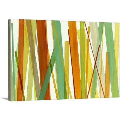 """""""Colorful Lines"""" by  Susan Jill Canvas Wall Art"""