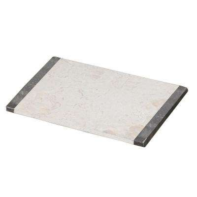 Champagne/Charcoal Marble Serving Board