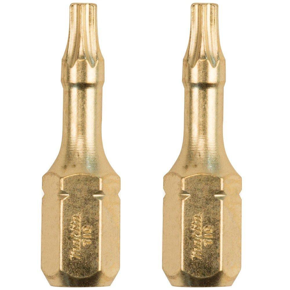 Impact GOLD #10 Steel Torx Insert Bit (2-Piece)
