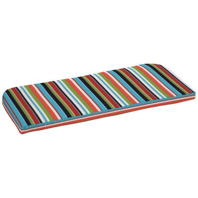 42 x 18 Sunbrella Carousel Confetti Outdoor Bench Cushion