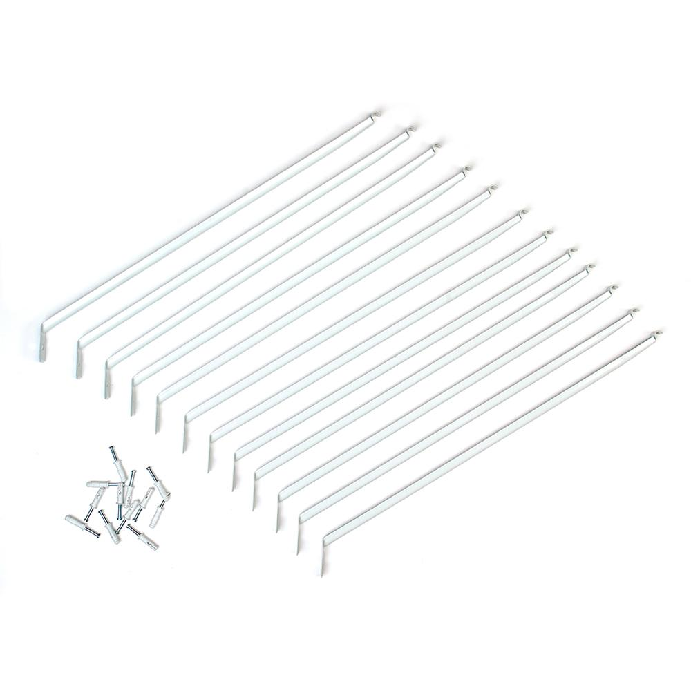closetmaid 12 in  shelving support bracket  12-pack -21775