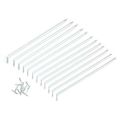 12 in. Shelving Support Bracket (12-Pack)