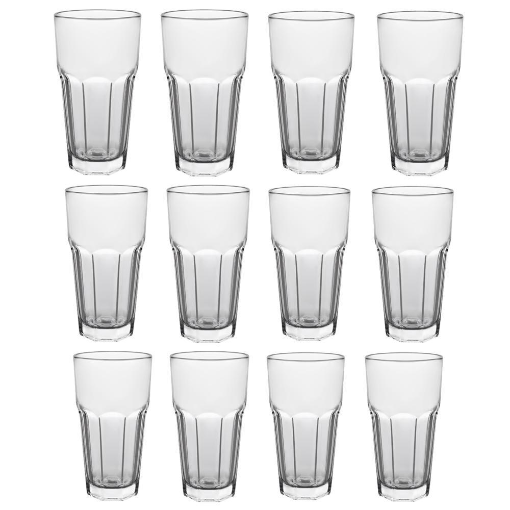4595439736e Libbey Gibraltar 22 oz. Iced Tea Glass (12-Pack)-5253 - The Home Depot