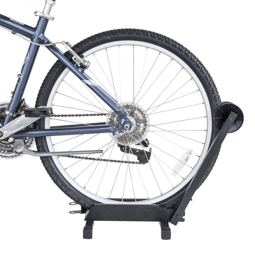 Portable 1-Bike Steel Bike Rack