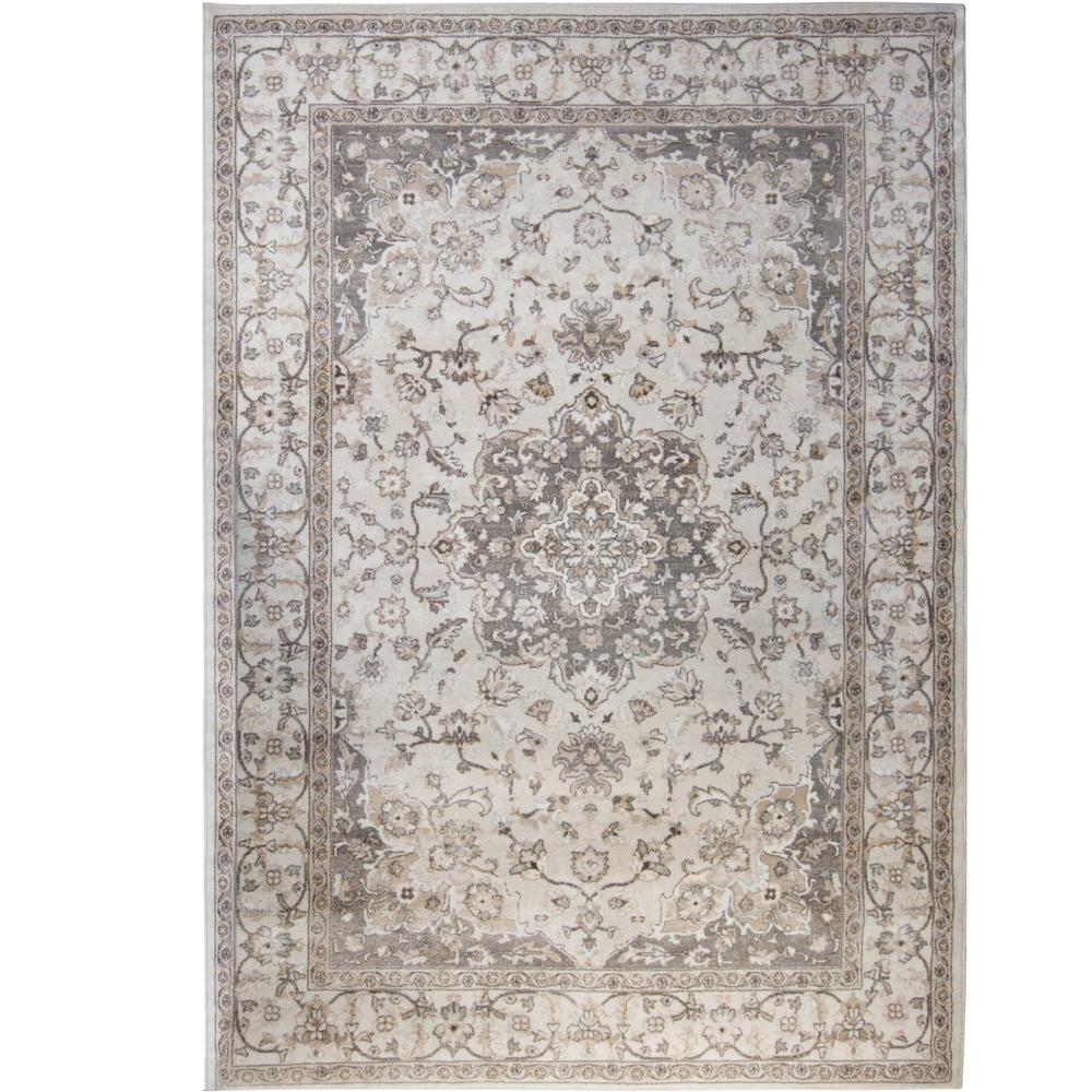 Bazaar Gray 8 Ft X 10 Area Rug