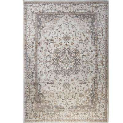 Bazaar Gray 7 ft. 10 in. x 10 ft. 1 in. Area Rug