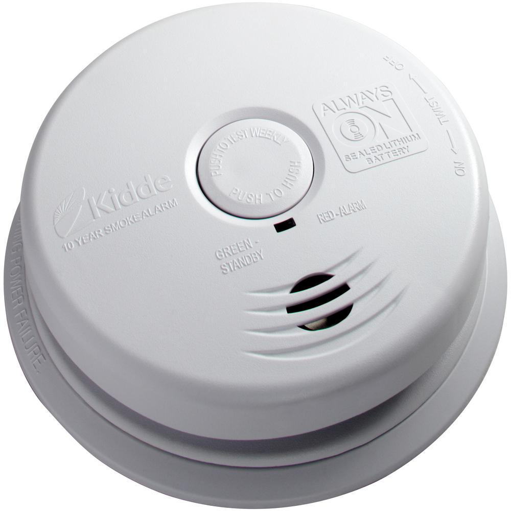Kidde 10 Year Worry Free 120 Volt Hardwired Smoke Detector With