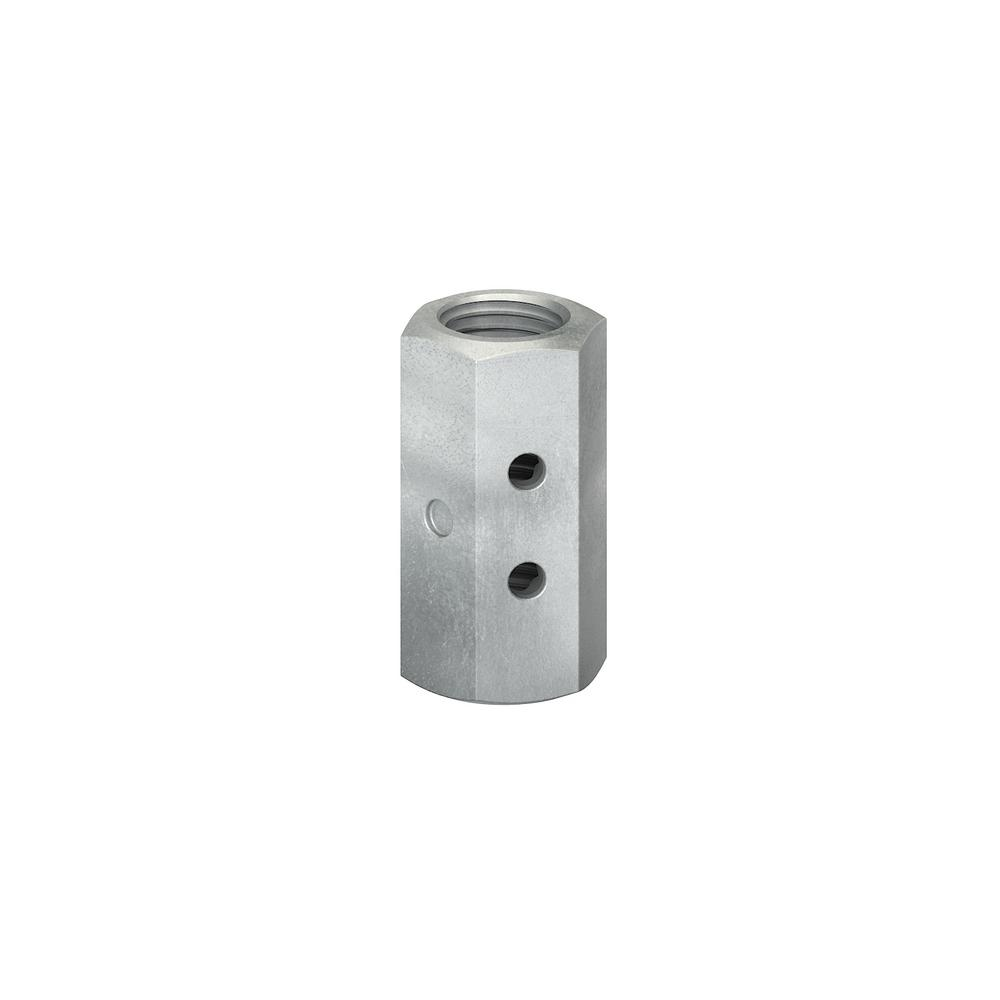 Simpson Strong-Tie 7/8 in. Witness Coupler Nut