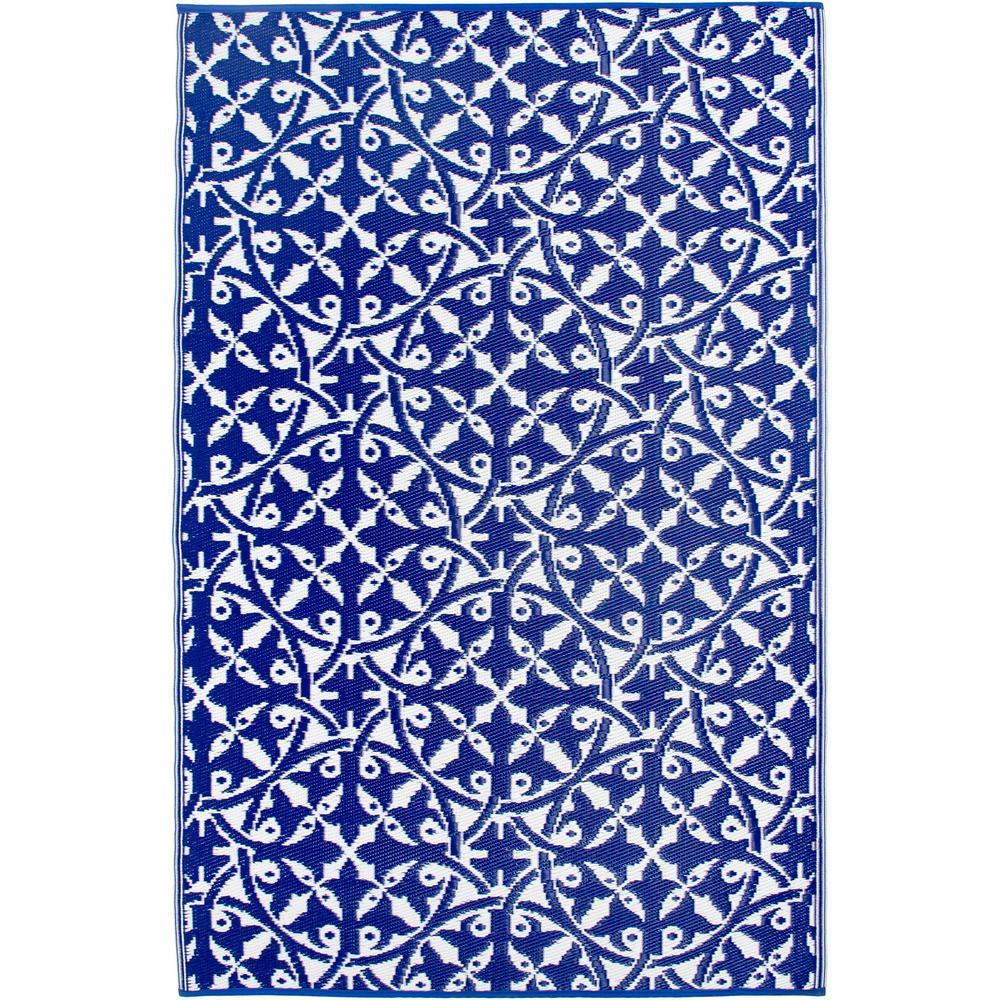San Juan - Indoor/ Outdoor Dark Blue (3 ft. x 5 ft. ) - Area Rug