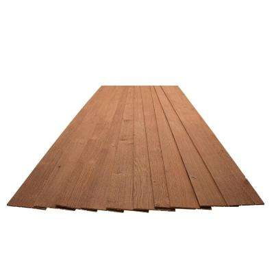 3/16 in. x 5-1/8 in. x 46-1/2 in. Rocky Ridge Red Rustic Pine Wood Plank Self-Adhesive (10-Pack)
