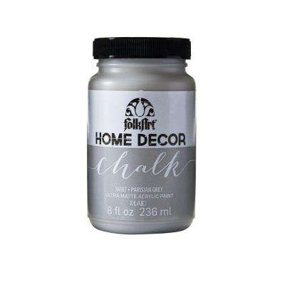 Home Decor 8 oz. Parisian Grey Ultra-Matte Chalk Finish Paint