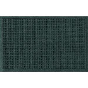 Aqua Shield Evergreen 24 inch x 36 inch Squares Polypropylene Door Mat by Aqua Shield