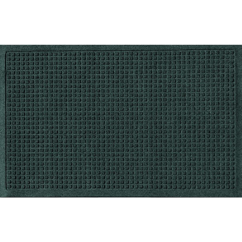 Evergreen 24 in. x 36 in. Squares Polypropylene Door Mat