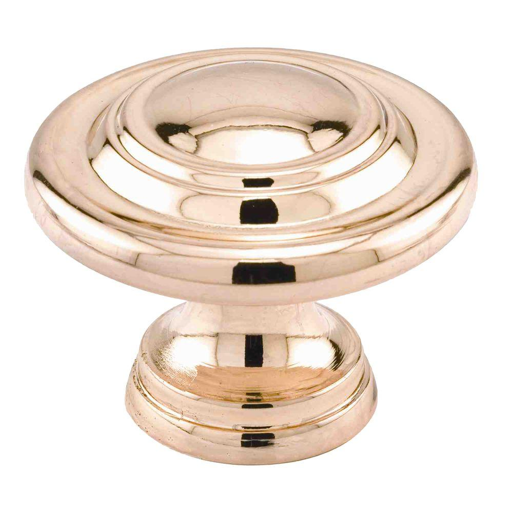 prime line 1 11 16 in brass plated bi fold door knob n 7369 the