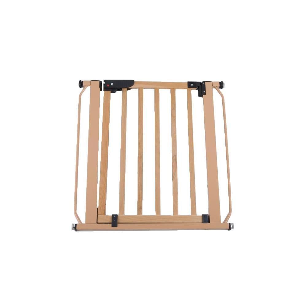 30 in. H x 29 in. to 33.25 in. W x 1 in. D Wood Auto-Lock Pressure Gate