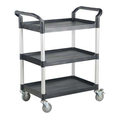 43 x 20 in. 3-Shelf Commercial Cart