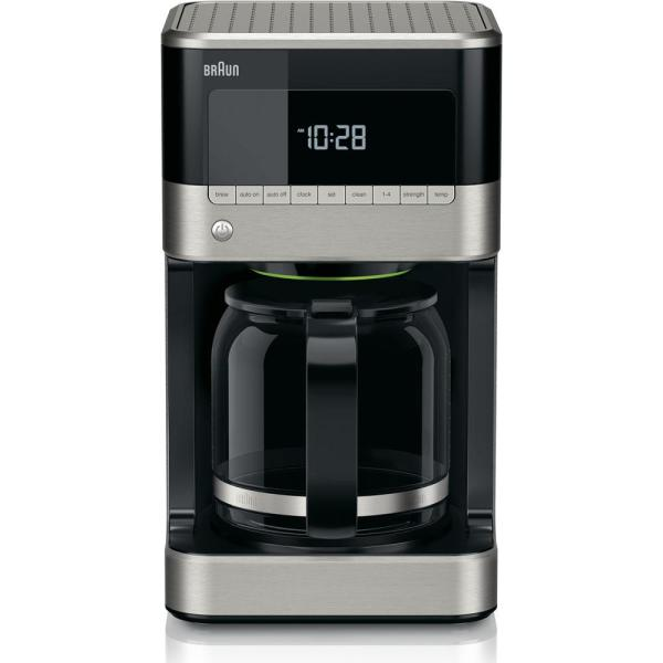 Braun BrewSense 12-Cup Drip Coffee Maker with Adjustable Brew Strength and