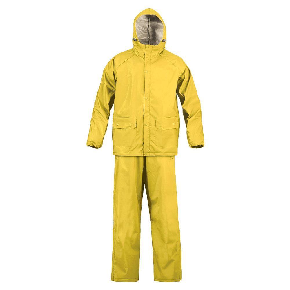SX 2X-Large Yellow Rainsuit