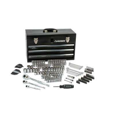 Mechanics Tool Set in Metal Box (200-Piece)