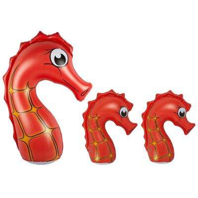 Seahorse Family Swimming Pool Decor (3-Pack)