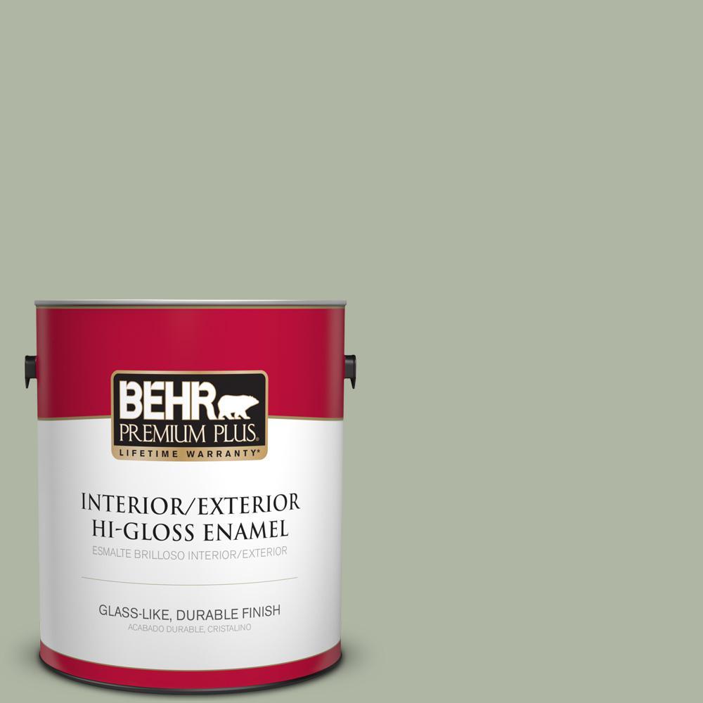 1 gal. #PPU11-09 Environmental Hi-Gloss Enamel Interior/Exterior Paint