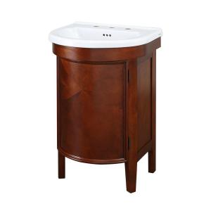 Bathroom Vanities Home Decorators home decorators collection hanley 23-3/4 in. w x 18 in. d bath