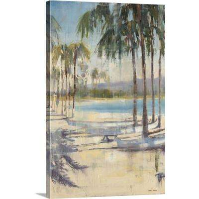 """Ocean Palms I"" by  Joseph Cates Canvas Wall Art"