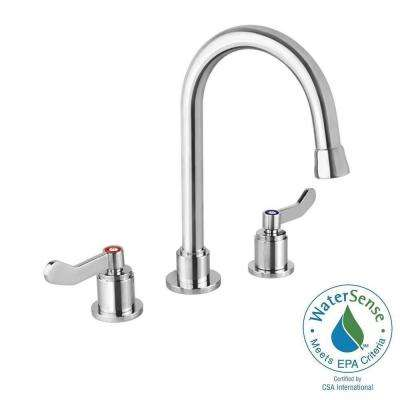 Light Commercial Collection 8 in. Widespread 2-Handle Bathroom Faucet in Chrome
