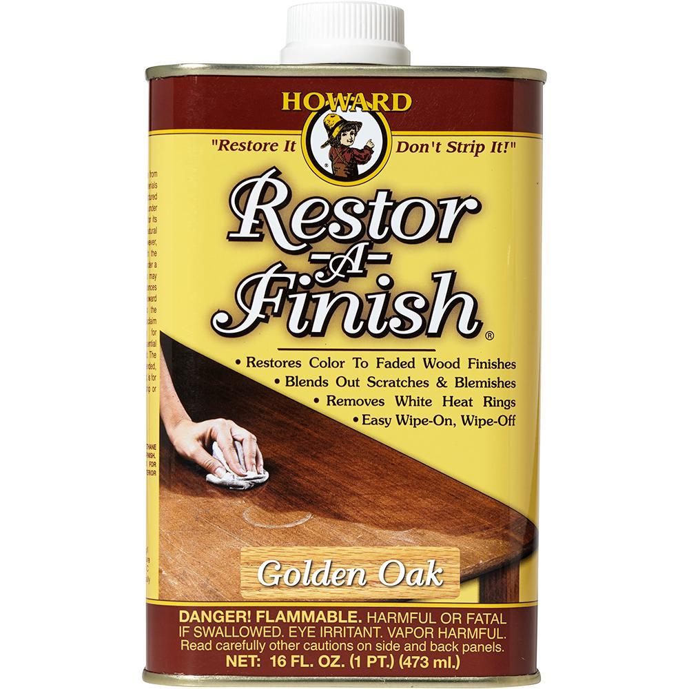 Howard 16 Oz Golden Oak Wood Finish Restorer Rf3016 The