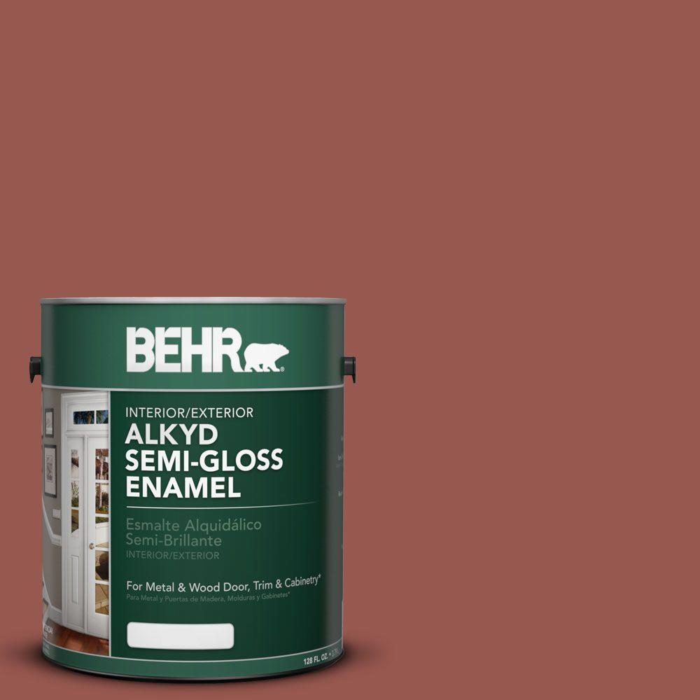Ae 12 Oxide Red Semi Gloss Enamel Alkyd Interior Exterior Paint